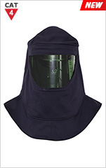 CAT 4 Arc Flash Hood with Cooling Fan