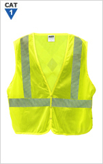 Modacrylic Arc/FR Hi-Viz Tear-Away Mesh Vest