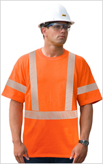 Hi-Viz Cotton Short Sleeve T-Shirt