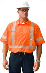 Short Sleeve Work Shirt SEGMENTED
