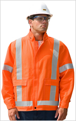 Traffic Safety Bomber Jacket