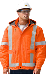 Traffic Safety Insulated Bomber Jacket