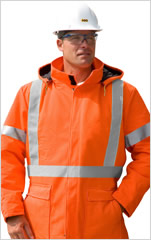 Traffic Safety Insulated Parka