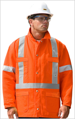 Traffic Safety Blanket Lined Utility Jacket