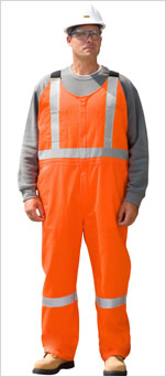 Traffic Safety Bib Overall