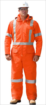 Traffic Safety Insulated Coverall
