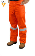 Hi-Viz ARC/FR Breathable Waterproof Pant