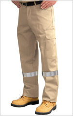 Cotton Work Pant with Cargo Pockets