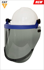 Arc Resistant 20cal HT AmpShield c/w Hard Hat