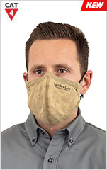 BarriAire Gold ARC/FR Reusable 3 Ply Mask